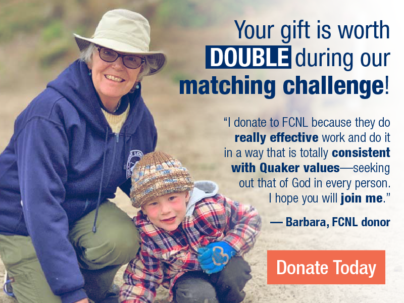 Your gift is worth double during our matching challenge! Donate today.