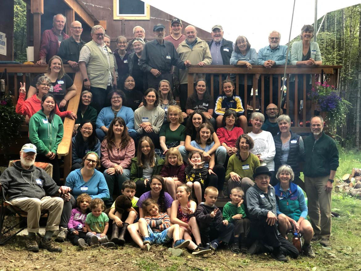 Alaska Friends gather in August 2019.