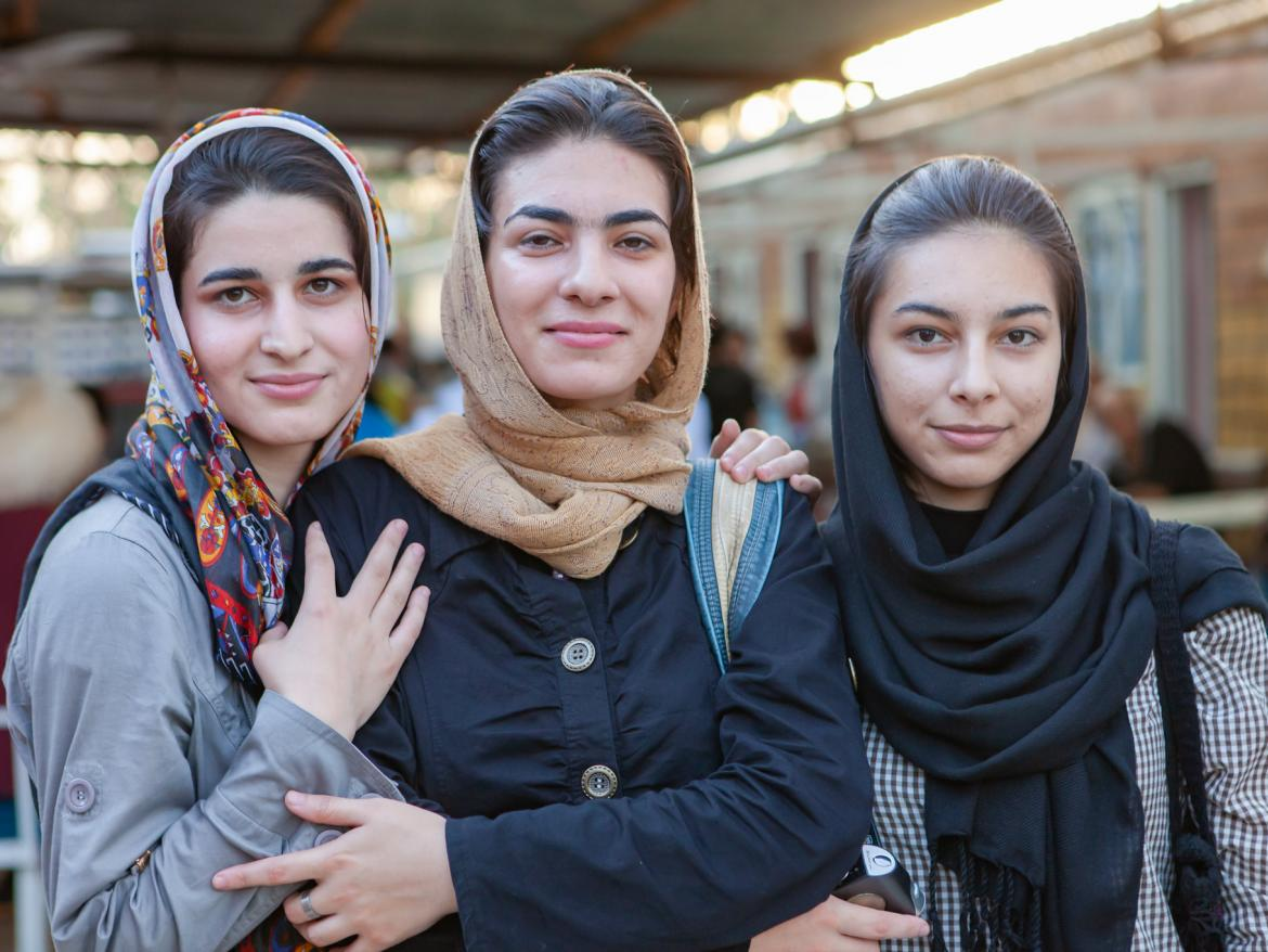 Women in Gorgan, Iran